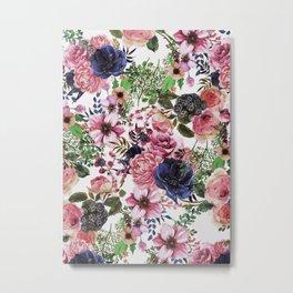 Floral Pattern#2 Metal Print