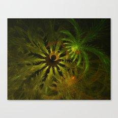 Tropical Moon Glow Canvas Print