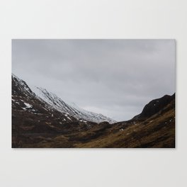 Glencoe, Scotland Canvas Print