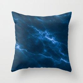 LIGHTNING SKY Throw Pillow