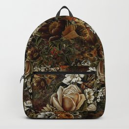 Night Garden Gold Backpack