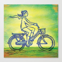 Bicycle 3 Canvas Print