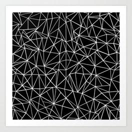 About Black Art Print