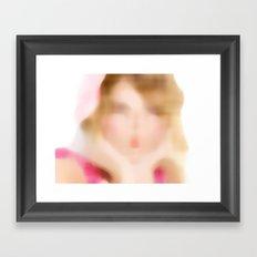 Cute (study) Framed Art Print