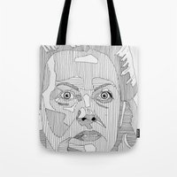 nurse Tote Bags featuring Nurse Ratched. by Bundles of Film