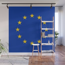 Flag of Europe 3 Wall Mural