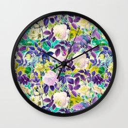 Future Garden Multicolor II Wall Clock