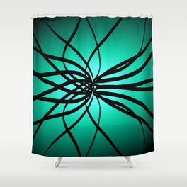 Relaxed Flow4 Shower Curtain