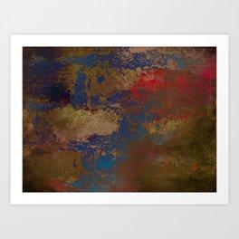 Used Canvas Art Print