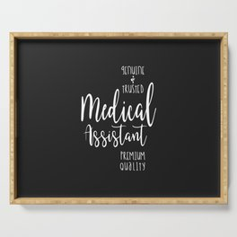 Medical Assistant Serving Tray
