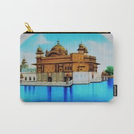 Classical Masterpiece 1825 Sri Harimandir Sahib - Golden Temple, Amritsar, India - Artist Unknown Carry-All Pouch