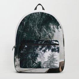 Winding Winter Roads Backpack