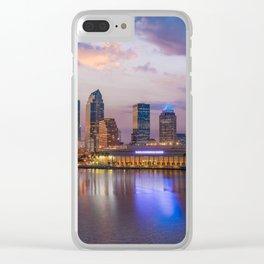 Tampa Gloam Clear iPhone Case