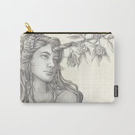 The Uncorn and the Roses Carry-All Pouch