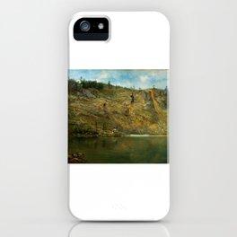The Iron Mine, Port Henry, New York iPhone Case