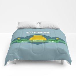 Utah - Redesigning The States Series Comforters
