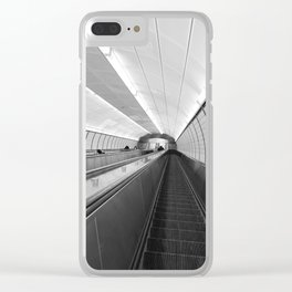 Next Stop...Unknown Clear iPhone Case