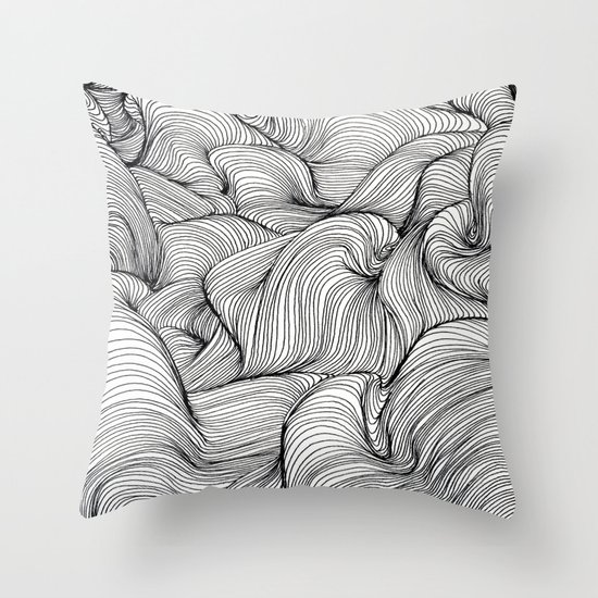 Scan 61 Throw Pillow