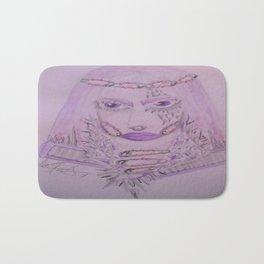 Safety Pin Queen. Bath Mat
