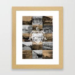 Historical Lyttelton White & Kraft Framed Art Print