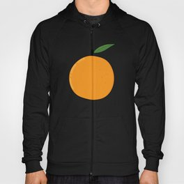 Colorful juicy orange Hoody
