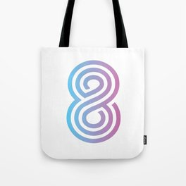 Cotton Candy 8 Tote Bag