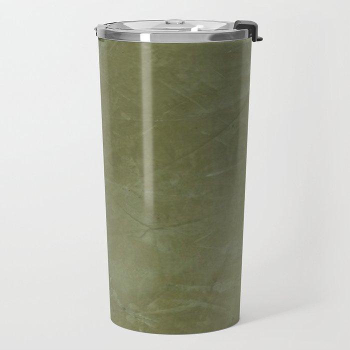Italian Style Tuscan Olive Green Stucco - Luxury - Neutral Colors - Home Decor - Corbin Henry Travel Mug