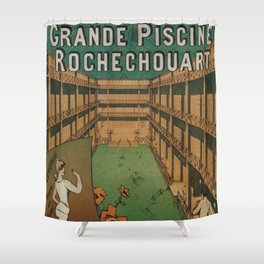 Grande Piscine Shower Curtain
