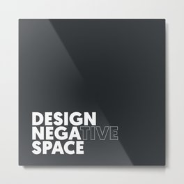 Design the Space Metal Print