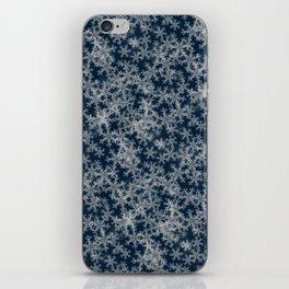 Deep Blue Snow iPhone Skin