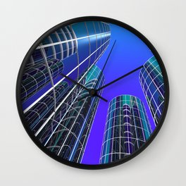 look into the sky -2- Wall Clock