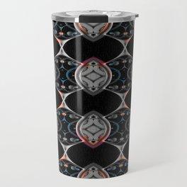 Gothic Rococo Neo Tribal Dark Art Pattern Boho Travel Mug