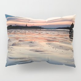 Saint Malo au coucher du soleil / Sunset in Saint Malo Pillow Sham