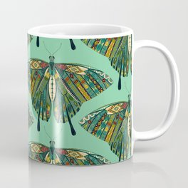 swallowtail butterfly emerald Coffee Mug