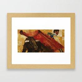 Toro Y Matador Framed Art Print