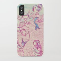 Mermaids Slim Case iPhone X