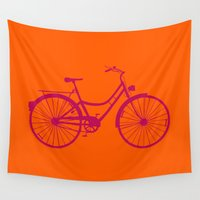 bicycle Wall Tapestries featuring Bicycle by Mr & Mrs Quirynen