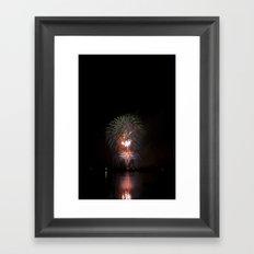 Fireworks make you wanna... (3) Framed Art Print