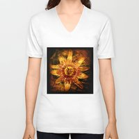 passion V-neck T-shirts featuring Passion by Sirenphotos