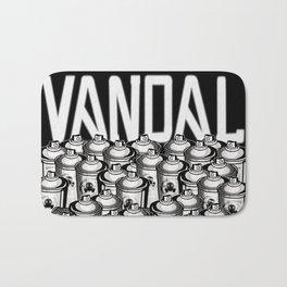 VANDAL and SPRAY CANS Bath Mat