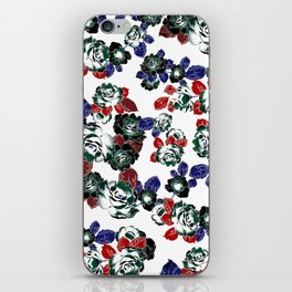 Cool Floral texture iPhone Skin