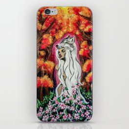 Powerful Blossom iPhone Skin
