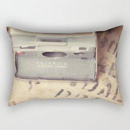 VIntage Polaroid SX-70 Rectangular Pillow