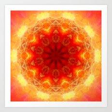Energy within Art Print