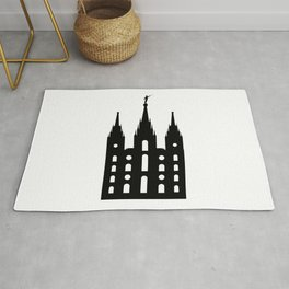 Mormon Style Temple Rug