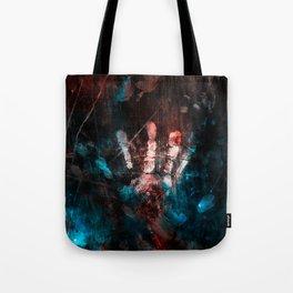 Cosmic Grunge Imprints Tote Bag