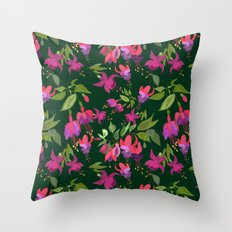 April blooms(Fuchsia)  Throw Pillow