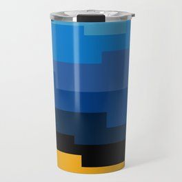 Summer 2016 In Blue Travel Mug