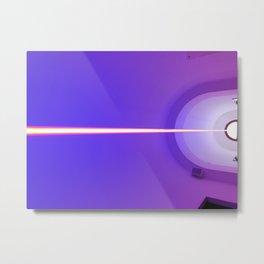 Purple light Metal Print