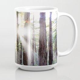 Sunburst Through the Redwoods Coffee Mug